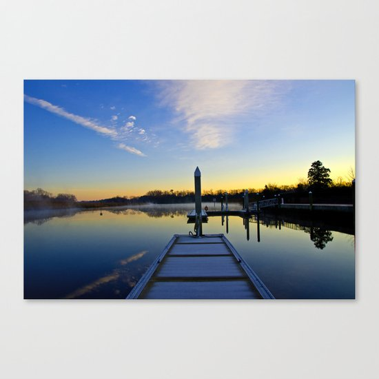The River Awakens Canvas Print