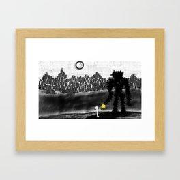 Bringer of Light Framed Art Print