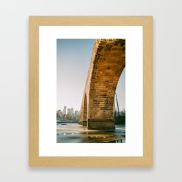 Stone Arch Bridge Framed Art Print