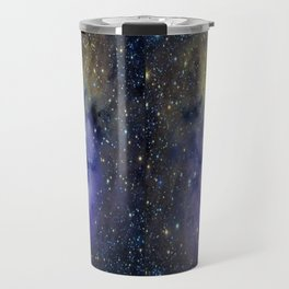 Pansy in Space Travel Mug