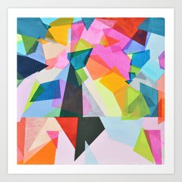 prisms 1 Art Print