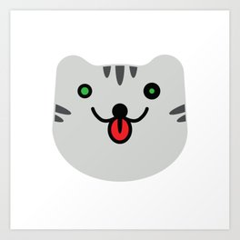 Cat?Tiger? Art Print