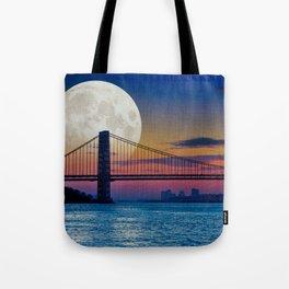 Moon over Harlem Tote Bag