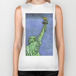 Lady Liberty #3 Biker Tank