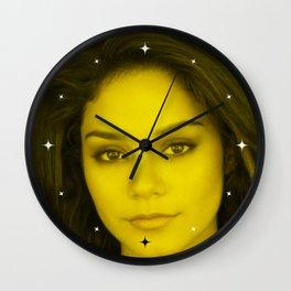 Vanessa Hudgens - Celebrity (Florescent Color Technique) Wall Clock