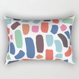 Brush strokes pattern #1 Rectangular Pillow