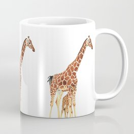Giraffe Art - A Mother's Love - By Sharon Cummings Coffee Mug