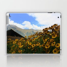 Daisies and Alps Laptop & iPad Skin