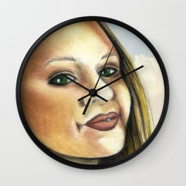 The love of a Samari Wall Clock