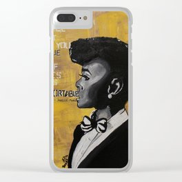 Monae Clear iPhone Case