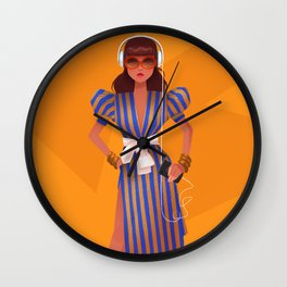 Fighter Wall Clock