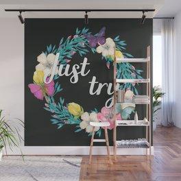 Believing Doesn't Make It True Wall Mural