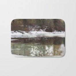 Icy Reflections Bath Mat