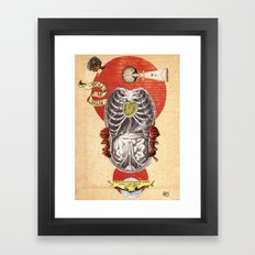 Thanatopsis: Sigil No. 2: A Note from Underground Framed Art Print