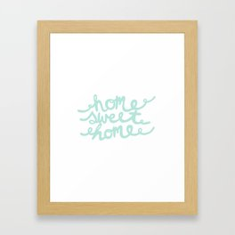 Home Sweet Home Framed Art Print