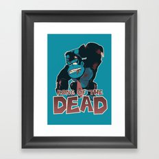 Kong of the Dead Framed Art Print