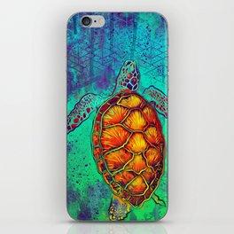 Swim in Eternal Seas iPhone Skin