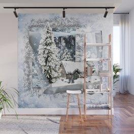 Winterwunderland Wall Mural
