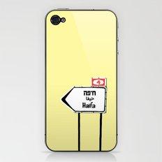 Haifa This Way iPhone & iPod Skin