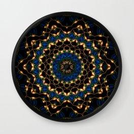 Streams Light Mandala Wall Clock