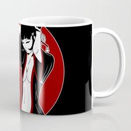 Geisha Pinup Ten Coffee Mug
