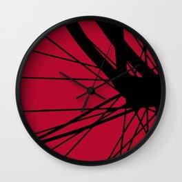 The Black Bike Wall Clock