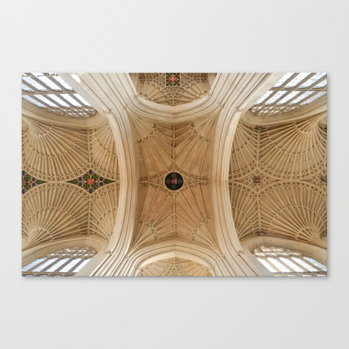 Abbey Ceiling Canvas Print