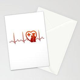 Vet Heartbeat Stationery Cards
