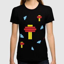 Festive Lantern Pattern T-shirt