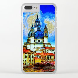 Salute Venice Clear iPhone Case