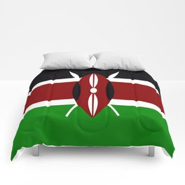 Flag of Kenya Comforters
