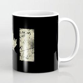 Canadian Distressed Flag (Sand) Coffee Mug