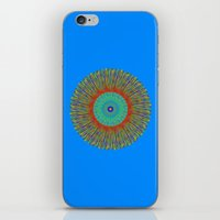 kaleidoscope iPhone & iPod Skins featuring Kaleidoscope  by BrucestanfieldartistPatterns