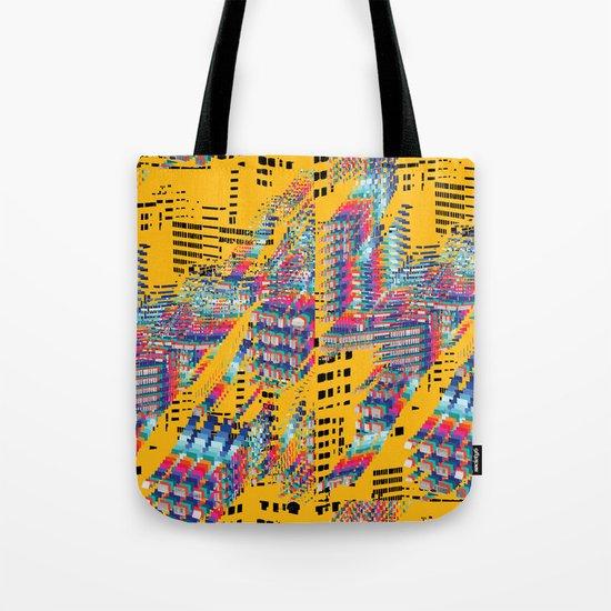 Fragmented Worlds IV Tote Bag