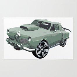 Studebaker in Green Rug