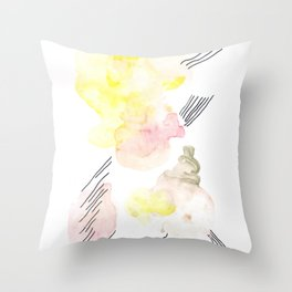 Scandi Micron Art Design | 170412 Telomeres Healing 5 Throw Pillow