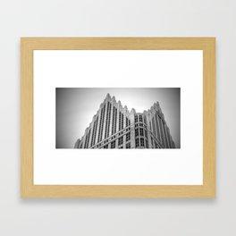 Fog on High Framed Art Print