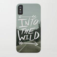 Into the Wild II iPhone X Slim Case