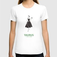 taurus T-shirts featuring Taurus by Cansu Girgin