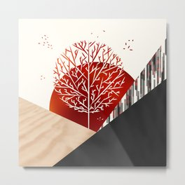 AUTUMN SERENADE Metal Print