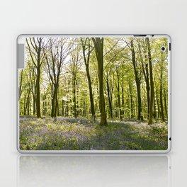 Bluebells of Micheldever Wood Laptop & iPad Skin