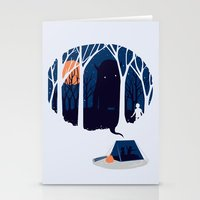 scary Stationery Cards featuring Scary story by SpazioC