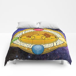 Sailor Moon Crystal stained glass window Transformation Brooch Comforters