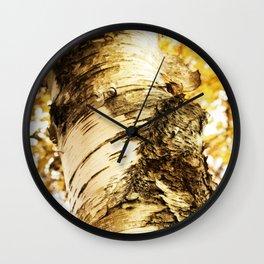 The Beautiful Birch Wall Clock