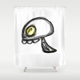 Ghostie Shower Curtain