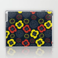 Blooming Wild (red & yellow) Laptop & iPad Skin