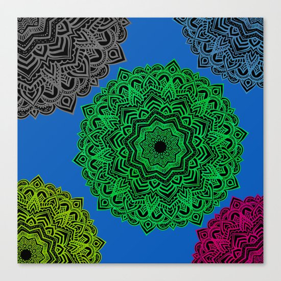 My Angel Spirit Mandhala | Secret Geometry Canvas Print