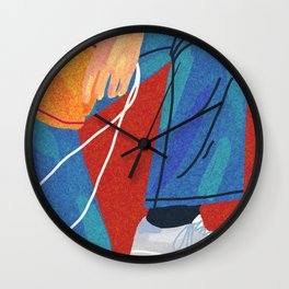 get ready Wall Clock