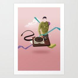ILOVEMUSIC #4 Art Print