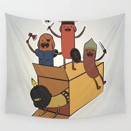 AT - Hog Dog Knights Wall Tapestry